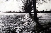 Výstava Povodně v Uherském Hradišti ve Slováckém muzeu. Řeka Morava 1930