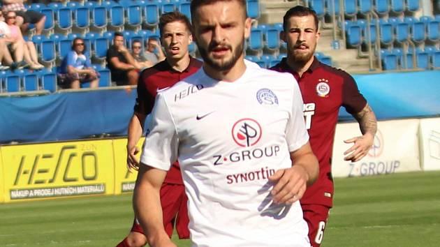 Útočník Slovácka Tomáš Zajíc