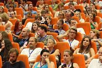 Letní filmová škola v Uherském Hradišti. Slavnostní zahájení.