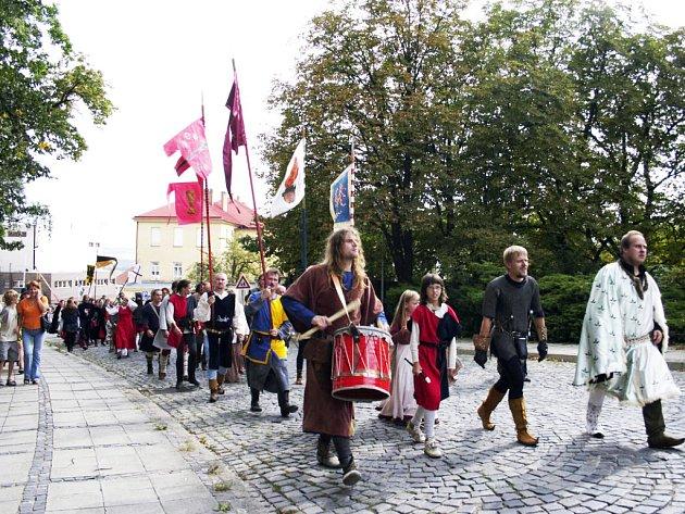 Historická procházka je součástí akce.
