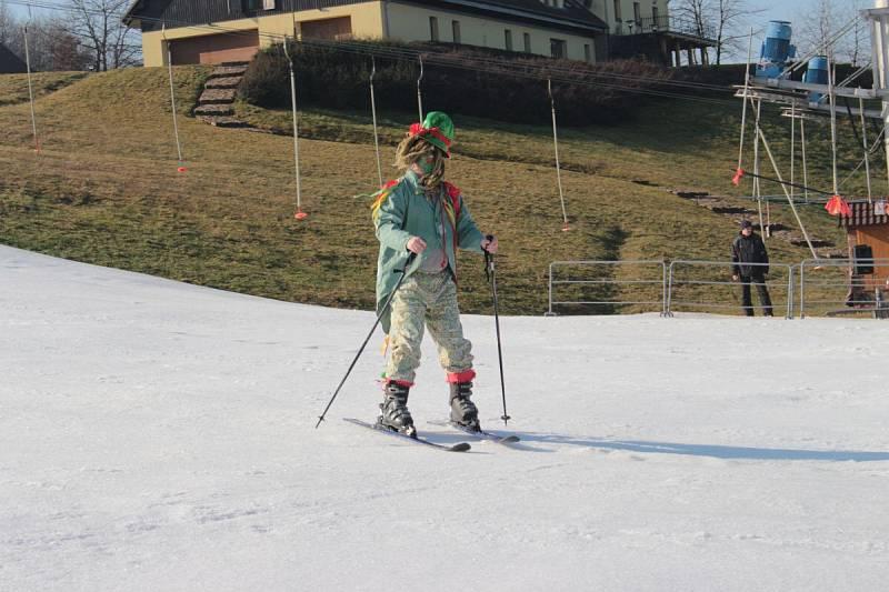 Ski areál v Osvětimanech