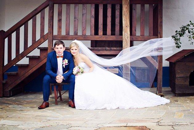 Soutěžní svatební pár číslo 68 - Ivona a Marian Jačovi, Zlín