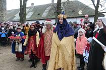 NA HRADĚ. Na Štěpána byla otevřena hradní brána středověkého hradu Buchlova.