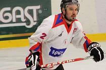Michal Sladký HC Uherské Hradiště. Ilustrační foto.