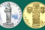 Šestisté výročí upálení Jana Husa připomenou také dvě další kolekce. Každá obsahuje tři jednouncové či půluncové medaile z ryzího zlata nebo čistého stříbra.