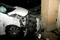 Dopravní nehoda na Moravním nábřeží v Uh. Hradišti
