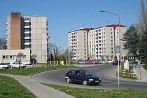 Sídliště ve Staré Tenici v Uherském Hradišti. Ilustrační foto.