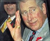 Princ Charles na svém oficiálním portrétu.