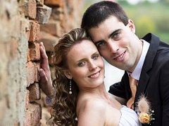 Soutěžní svatební pár číslo 41 - Lucie a Pavel Navrátilovi, Kostelec na Hané
