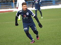 Záložník 1.FC Slovácko Jan Navrátil.