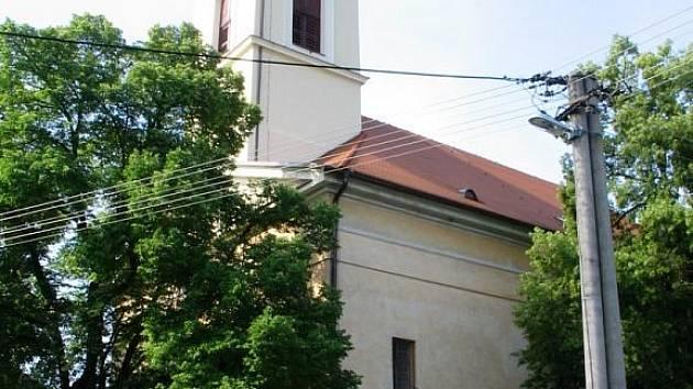 Kostel sv. Jakuba staršího v Komni.