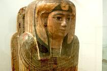 Výstava předmětů ze starověkého Egypta a Nubie ve Slováckém muzeu.