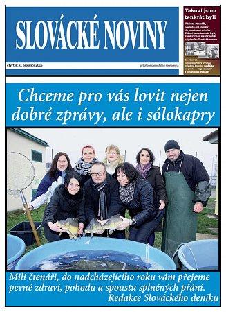 Už zítra se Slovácké noviny promění vSilvestrovský speciál