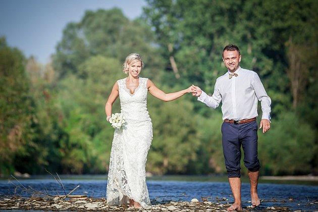 Soutěžní svatební pár číslo 120 - Miluše a Petr Málkovi, Hranice