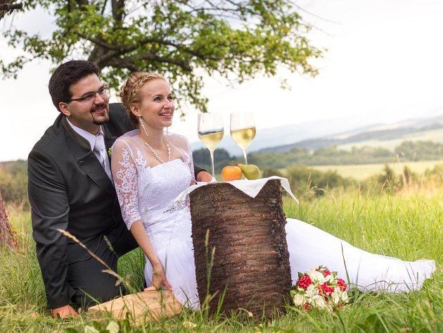 Soutěžní svatební pár číslo 78 - Jana a František Havranovi, Hranice