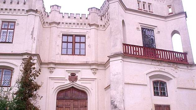 Zámek Nový Světlov v Bojkovicích. Ilustrační foto.