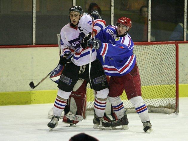 Pokud se bude v Hradišti hrát krajský přebor, do týmu se vrátí i Michal Andrýsek (vlevo).