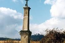 Nejstarší památkou, kterou chtějí buchlovičtí letos opravit, je polní kříž v obecní části Staré Hory.