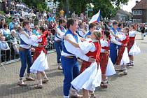 Soubor reprezentoval slovácký folklor v Holandsku.