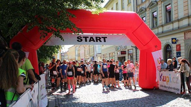 Běh pro paměť národa v Uherském Hradišti