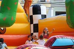 Slovácké léto zahájilo 11. ročník Velkým dětským dnem na Masarykově náměstí
