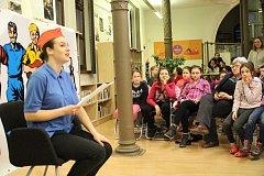 Kolem šedesáti dětí letos přenocovalo v knihovně v Uherském Hradišti na už devatenáctém ročníku Noci s Andersenem.