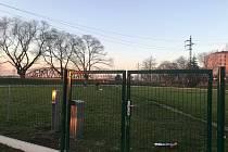 Oplocený výběh pro psy v Uherském Hradišti