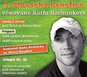 Pozvánka na 3.Slováckou benefici