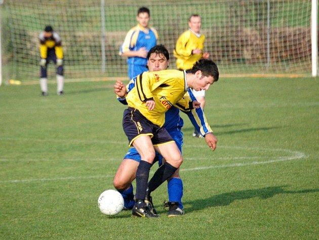 Fotbal Sušice - Boršice. Ilustrační foto