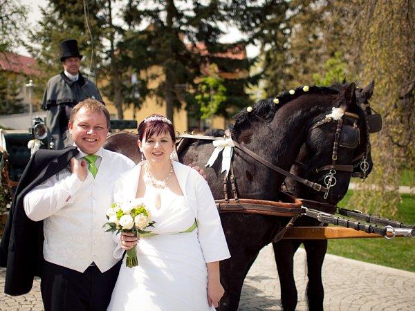 Soutěžící svatební pár číslo 24 - Lucie a Petr Dovrtěl, Bílovice-Včelary.