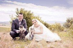 Soutěžní svatební pár číslo 50 - Míša a Míša Andrysíkovi, Uherský Brod