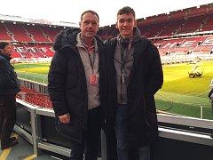 Sedmnáctiletý brankář dorostu ligového Slovácka Matěj Kovář absolvoval pětidenní stáž ve slavném Manchesteru United.