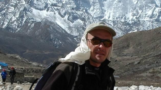 Martin Minařík vystoupil na 8516 metrů vysokou horu Lhotse.