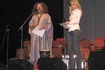 Leona Machálková v Hradišti podpořila muzikoterapeutický koncert
