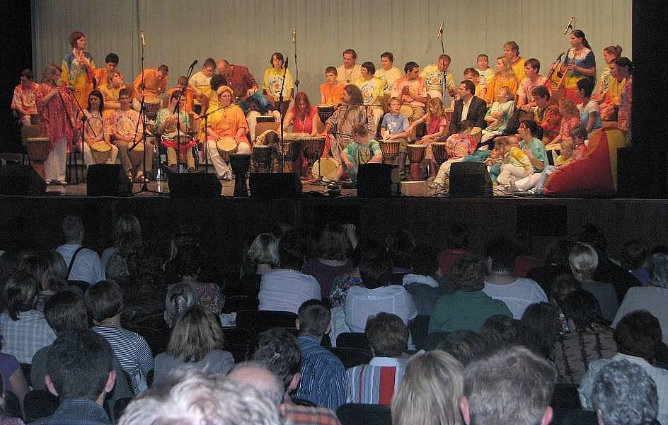 Muzikoterapeutický koncert v Uherském Hradišti