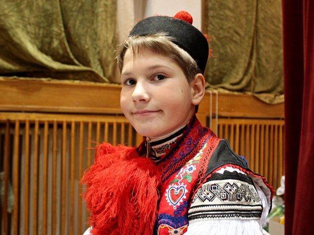 Nový vlčnovský král Petr Španěl.