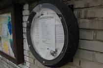 Fotopostřeh - pneumatika slouží novému účelu.