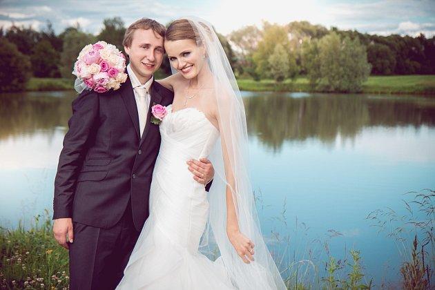 Soutěžní svatební pár číslo 119 - Martina a Radim Otáhalovi, Klokočí.