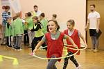 V Horním Němčí sportovali olympionici. Nové doskočiště pokřtila Šárka Kašpárková