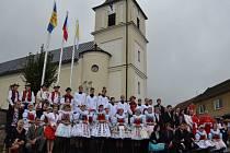 Na pomezí Dolňácka a Horňácka zavítal metropolita moravský.