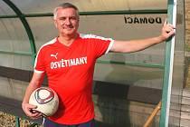 Podnikatel a kancléř prezidenta Vratislav Mynář přispívá na chod fotbalového klubu v Osvětimanech