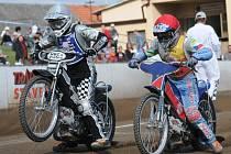 V Březolupech se jel finálový závod Mistrovství České republiky dvojic na ploché dráze.
