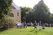Lokalita Rochus s historickou kapličkou se v budoucnu promění v rekreační oblast.