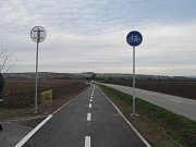 Dolní Němčí, Slavkov – Otevření nového úseku cyklostezky