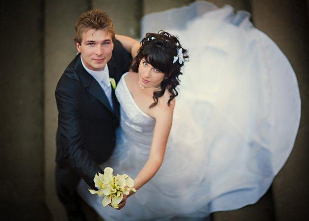 Soutěžní svatební pár číslo 210 - Ivana a Pavel Valáškovi, Zlín.
