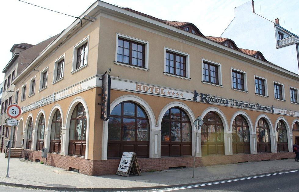 Restaurace U hejtmana Šarovce v Uherském Hradišti.