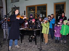 Česko zpívá koledy v Uherském Hradišti, 11. 12. 2013.