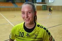 Sedmnáctiletá házenkářka Kunovic Daniela Tvrdoňová bude hrát v příští sezoně i za Hodonín.