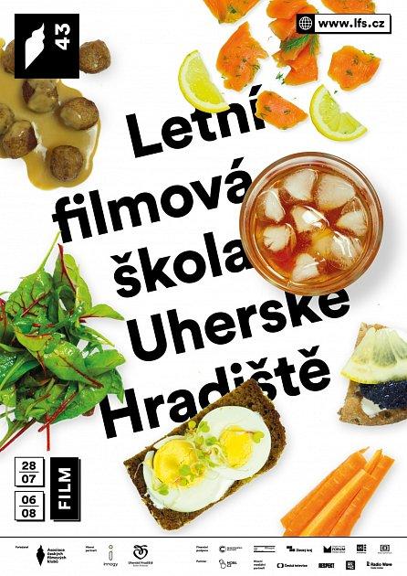 Plakát 43.ročníku Letní filmové školy vUherském Hradišti. Ilustrační foto.