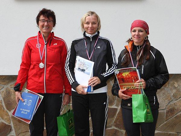 II. ročník Velkomoravský půlmaraton: vítězné ženy